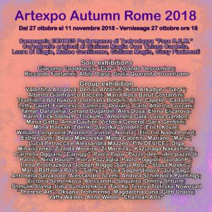 flyer retro artexpo autumn rome-r