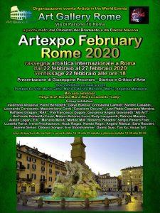 locandina Artexpo February Rome 2020-r3