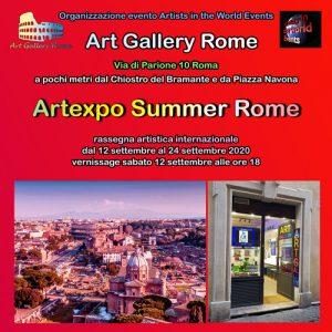 Flyer fronte Artexpo Summer Rome 2020-xxx